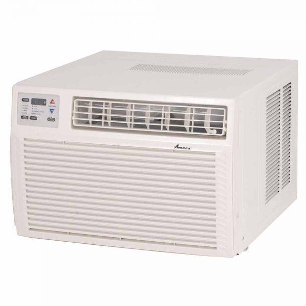 Window Heat Air Conditioner Units : Amana ah g ax btu r a window heat pump air